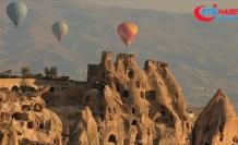 Kapadokya'da turist sayısında tüm zamanların rekoru kırıldı