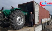 Libya'ya traktör ihracatı başladı