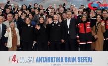 Bakan Varank 4. Ulusal Antarktika Bilim Seferi için yola çıkan heyeti uğurladı