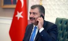 Sağlık Bakanı Koca, ABD'li mevkidaşı Azar ile görüştü