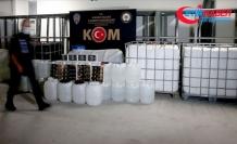İçişleri Bakanlığı: Bu yıl 1 milyon 20 bin 819 litre ile 220 bin 911 şişe sahte/kaçak içki ele geçirildi