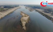 Meriç Nehri'nde kuraklık alarmı