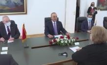 Bakan Çavuşoğlu, Bosna Hersekli mevkidaşı Turkovic ile görüştü