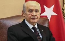 MHP Lideri Bahçeli: İş Bankası'ndaki CHP hisselerinin Hazineye devrini destekleriz