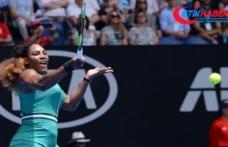 Serena Williams Avustralya Açık'ta ikinci turda