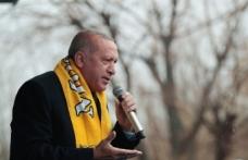 """Cumhurbaşkanı Erdoğan: """"Vatan toprağı üzerinde ameliyat yapılmasına göz yummayız"""""""