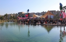 İskenderun Millet Parkı hizmete açıldı