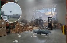 ABD'de F-16 jeti düştü, pilot paraşütle atlayarak kurtuldu