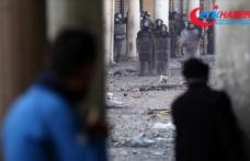 Irak'ın Kerbela kentindeki Meclis binasına girmeye çalışan 15 gösterici yaralandı