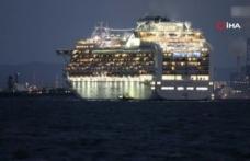 Karantina gemisinden bine yakın yolcu tahliye edildi
