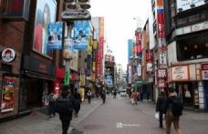 Japonya'nın başkenti Tokyo'da sakin hafta sonu