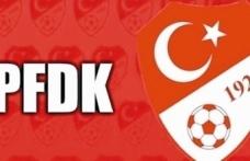 PFDK'dan sosyal mesafe cezası