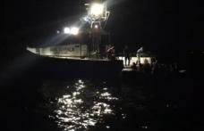 Yunan sahil güvenlik unsurlarınca Türk kara sularına itilen 63 sığınmacı kurtarıldı