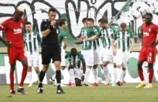 Beşiktaş Konyaspor karşısında hüsrana uğradı