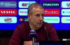 """Abdullah Avcı: """"Futbolda olumlu ve olumsuz duyguları bir anda yaşıyorsunuz"""""""