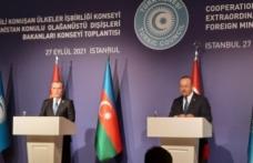 """Bakan Çavuşoğlu: """"Atılacak adımları Azerbaycan ile birlikte koordine ederiz"""""""