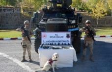 Bitlis'te teröristlere ait patlayıcılar ile 22 el bombası imha edildi