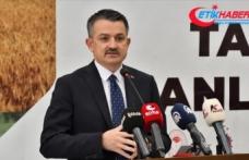 Tarım ve Orman Bakanı Pakdemirli: Çiftçimizin alın teri karşılıksız kalmayacak