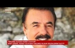 MHP Lideri Devlet Bahçeli'den Ferdi Tayfur'a 'geçmiş olsun' telefonu