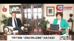 Ayşenur Arslan TRT'yi karalamaya çalışırken kendi rezil oldu