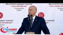 """MHP Lideri Devlet Bahçeli'nin okuduğu """"Çırpınırdı Karadeniz"""" şiiri (19-06-2018)"""
