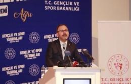 Bakan Kasapoğlu, Ağrı Gençlik ve Spor Protokolü...