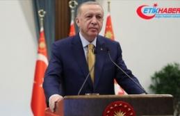Cumhurbaşkanı Erdoğan merhum başbakanlardan Erbakan'ı...