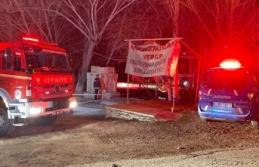 Eğlenmek için geldikleri restoranda yanarak ölen 3 kişinin cenazeleri çıkartıldı
