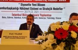 MHP'li Yıldız: Tarihi yürüyüşü sürdüreceğiz, ülkemizin geleceğini başkalarının eline teslim etmeyeceğiz