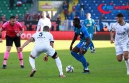 Çaykur Rizespor-Kasımpaşa'yı 2-1 mağlup...