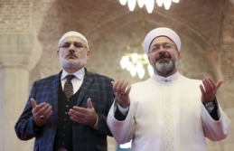 Diyanet İşleri Başkanı Erbaş ve Hafiz Osman Şahin...