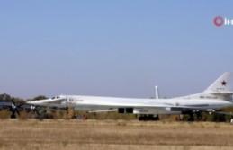 Rus bombardıman uçaklarına Norveç'e ait F-16'ları...