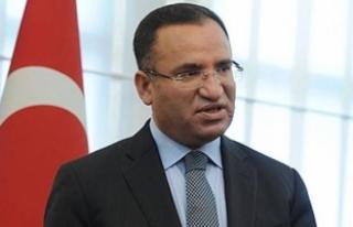 Adalet Bakanı Bozdağ: Dosyaların hepsi Gülen'in...
