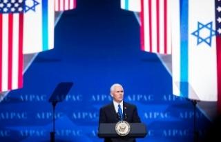 """AIPAC konferansına """"ABD'nin İsrail'e..."""