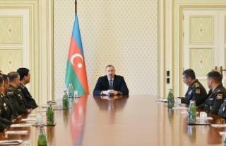 Aliyev: Azerbaycan tahrip gücü yüksek modern silahlar...