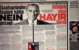 Alman Bild gazetesinden 'Atatürk'lü hayır...