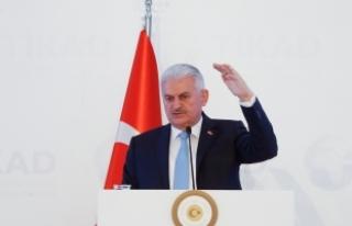 Başbakan Yıldırım: İstikbal ve gelecek mücadelemizi...
