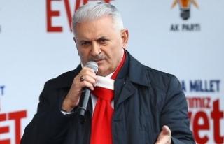 Başbakan Yıldırım: Mevcut sistem Türkiye'nin...