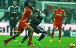 Beşiktaş zirvede avantaj yitirdi