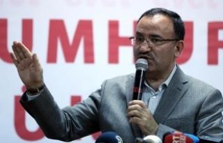 Adalet Bakanı Bozdağ: İnsanlık Suriye'de...