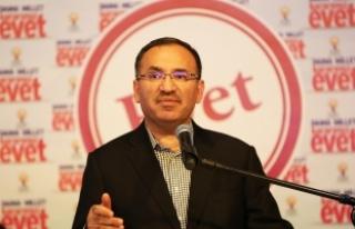 Adalet Bakanı Bozdağ: El birliğiyle Türkiye'nin...