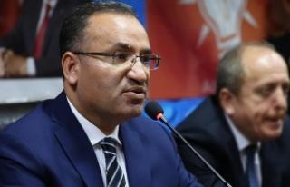 Bozdağ: Türk vatandaşlarının üzerine baskı...