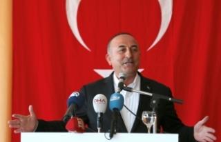 Çavuşoğlu: Onların demokrasi ve insan haklarında...