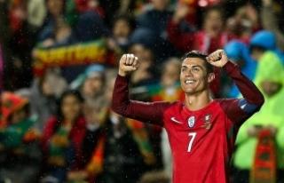 Cristiano Ronaldo en golcüler sıralamasında ilk...