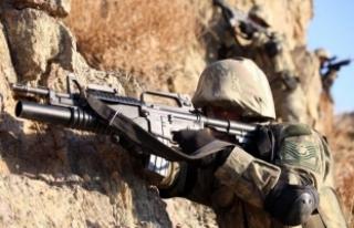 Cudi Dağı bölgesinde jandarma özel harekat ve...