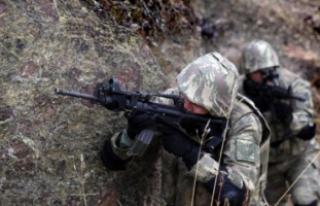 Çukurca'da üs bölgesine sızma girişimi;...