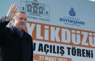 Cumhurbaşkanı Erdoğan: 16 Nisan'da istikrarı...