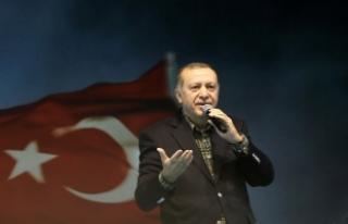 Cumhurbaşkanı Erdoğan'dan Almanya'ya...