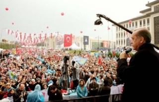 Cumhurbaşkanı Erdoğan: Haçlı ittifakı kendini...