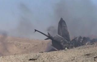 Düşen uçağın Suriyeli pilotu enkazdan 40 kilometre...